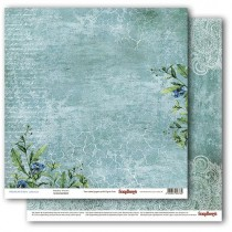 Obostranný papier -  Primavera Paisley Waves