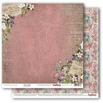 Obostranný papier - Primavera Flower Garden