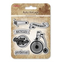 Razítka Auto Vintage - Bicycles