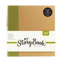 My Storybook album zelený