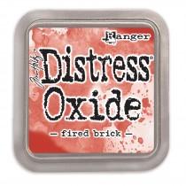 Poduška Distress Oxide - fired brick