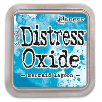 Poduška Distress Oxide - mermaid lagoon