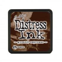 Poduška mini distress - espresso