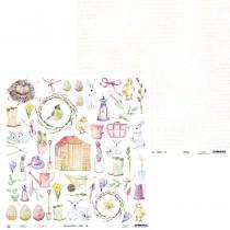 Obojstranný papier -  Spring 07b