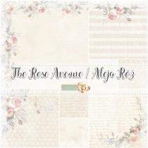 Sada papierov Rose Avenue (15,2x15,2 cm)