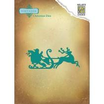 Vyrezávacia šablóna - christmas Santa Claus