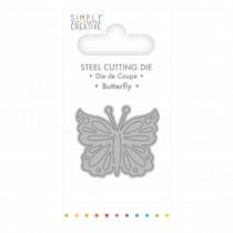 Vyrezávacia šablóna - Butterfly