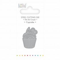Vyrezávacia šablóna - Cupcake
