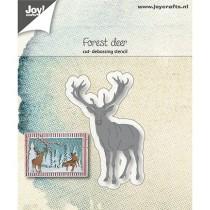 Vyrezávacia šablóna -  Deer