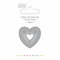 Vyrezávacia šablóna - Heart