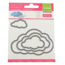 Vyrezávacia šablóna - Oblaky