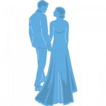 Vyrezávacia šablóna - wedding