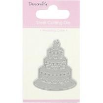 Vyrezávacia šablóna - Wedding Cake