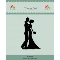 Vyrezávacia šablóna - wedding couple