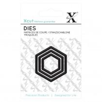 Vyrezávacia šablóna - Hexagons