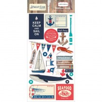 Yacht Club 6 x 13 Chipboard