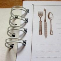 Základ pre receptár - hnedá podtlač