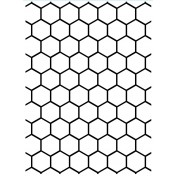 Embosovacia kapsa - honeycomb
