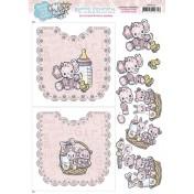 Papier A4 - Baby girl