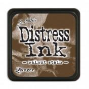 Poduška mini distress - walnut stain