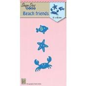 Vyrezávacia šablóna - Beach friends