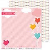Sada papierov - Puro amor (30,5x30,5 cm)