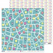 Sada papierov - De viaje (30,5x30,5 cm)