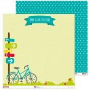 Sada papierov - Aventura (30,5x30,5 cm)