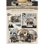 3D papierová stavebnica - Classic Gentlemen nr.80