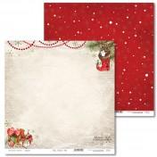 Obojstranný papier - Vintage Christmas 01