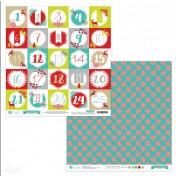 Obojstranný papier - xmas boutique 08
