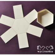 Exploding box - hexagon
