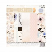Sada papierov - Serenity  15,2x15,2 cm
