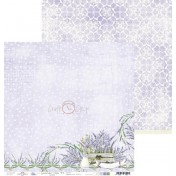 Obojstranný papier - Lavender hills 02