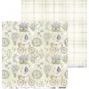 Obojstranný papier - Lavender hills 05