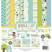 Sada papierov  Bundle of Joy 2 Boy (30,5x30,5)