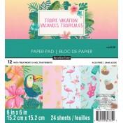 Sada papierov - Tropical Vacation (15,2x15,2 cm)