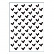 Embosovacia kapsa - hearts