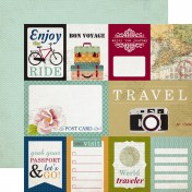 Obojstranný papier - Journaling Cards Paper