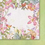 Obojstranný papier - When lilac bloom 01