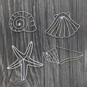 Lepenkový výrez - Shells