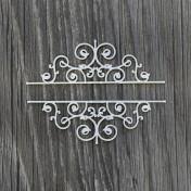 Lepenkový výrez - ornamentové rohy II