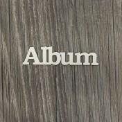 Lepenkový výrez - nápis Album II
