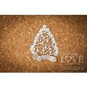 Lepenkový výrez -  Christmas Tree