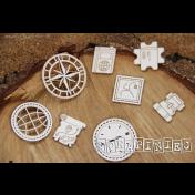 Lepenkový výrez - Compass