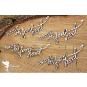 Lepenkový výrez - Listen to yours hearts