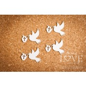 Lepenkový výrez - Pigeon