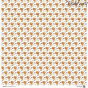 Sada papierov - Color of puppies boy 15,2x15,2 cm
