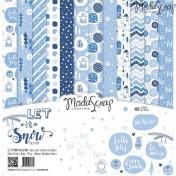 Sada papierov - Let it snow 30,5x30,5 cm