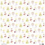 Sada papierov - Land of fairies 30,5x30,5 cm
